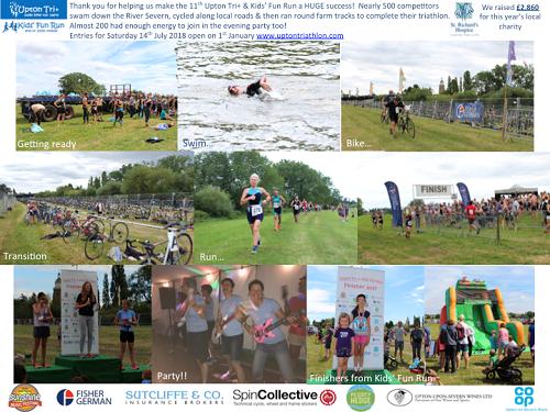 Sutcliffe & Co Sponsoring Upton Triathlon
