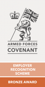 armed forces covenant bronze award footer logo